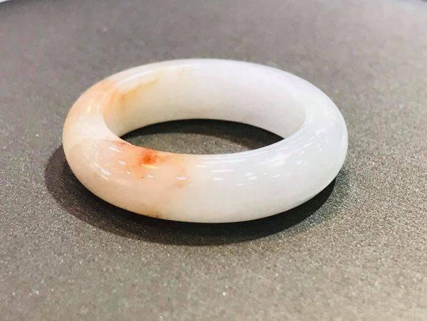 Nhẫn Ngọc Cẩm Thạch Huyết Rồng Độc Lạ Chính Hãng Gmt Jade