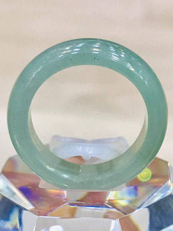 Nhẫn Ngọc Cẩm Thạch Myanmar Thủy Tinh Chủng Tại Gmt Jade