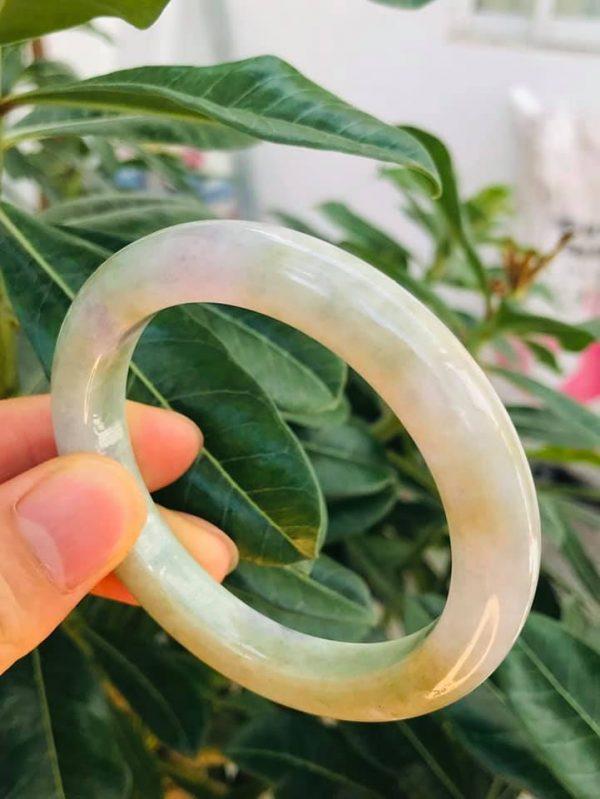 Vòng Ngọc Jade Bản Oval Cao Cấp Chính Hãng
