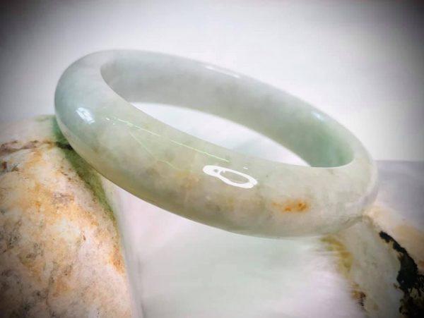 Vòng Tay Jadeite Bản Hẹ Cao Cấp Chính Hãng Gmt Jade