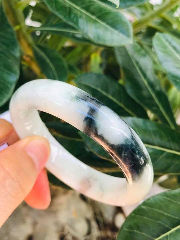 Vòng Tay Ngọc Jade A Bản Hẹ Chính Hãng